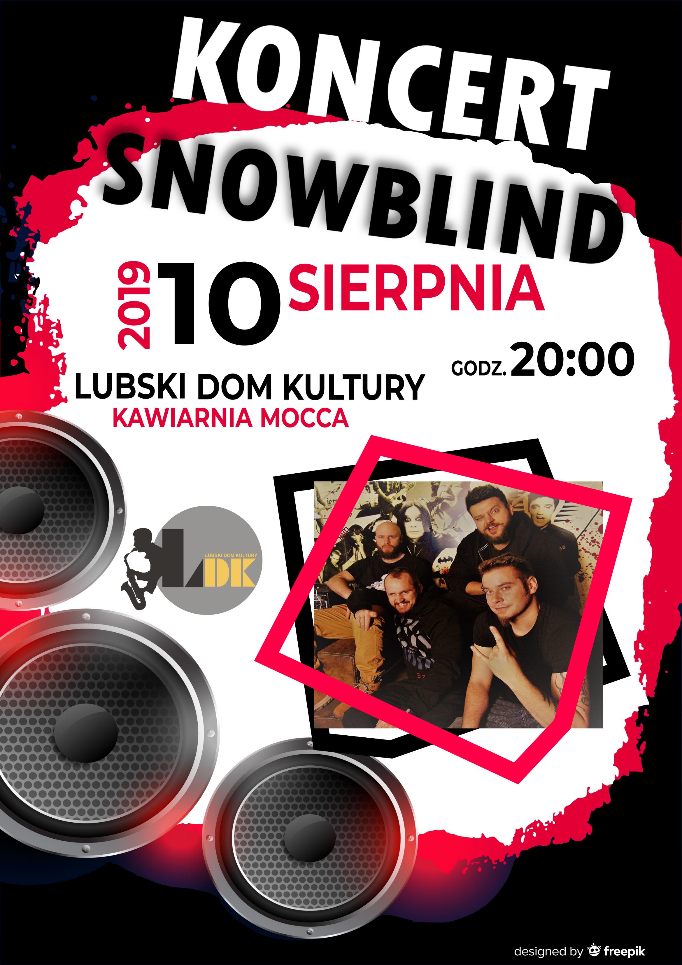 Ilustracja do informacji: Koncert SNOWBLIND
