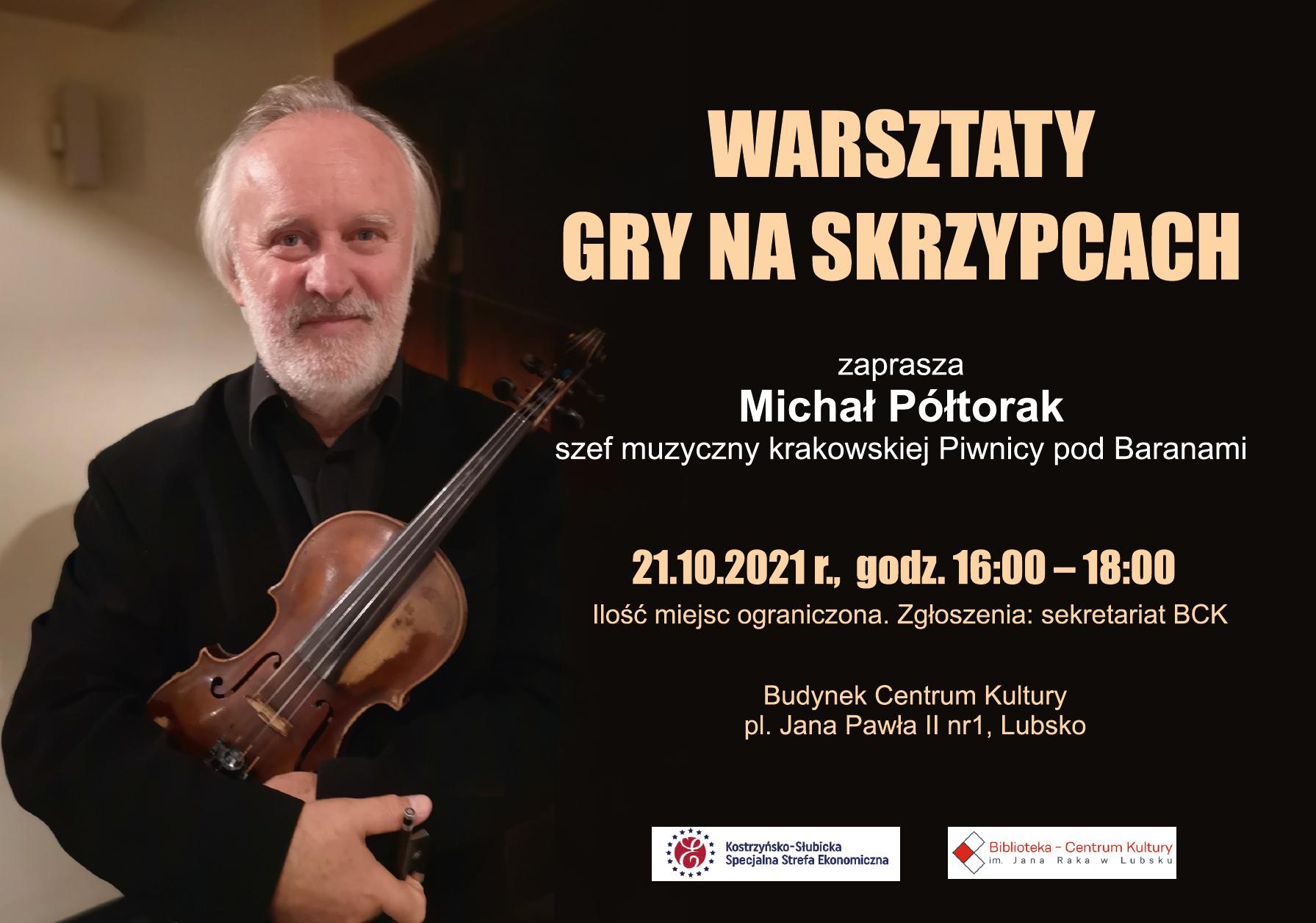 Ilustracja do informacji: Warsztaty gry na skrzypcach
