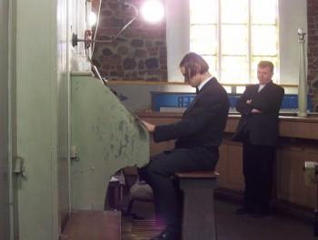 Miniatura zdjęcia: Festiwal Muzyki Kameralnej i Organowej Lubsko 2006_filharmonia062.JPG